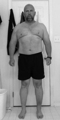 me at 260 lbs