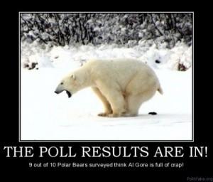 global warming hoax is polar bear crap