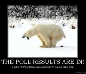 global warming hoax is polar bear crap